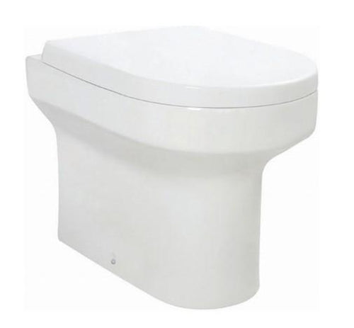 Spa Back to Wall Toilet & D-Shape Soft Close WC Seat
