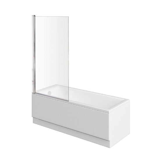 Sola 1700 x 800 Single Ended Bath & Square Bath Screen