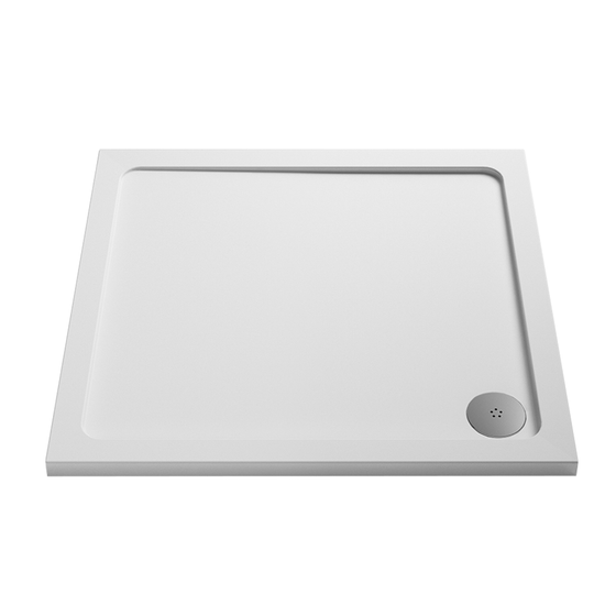 760 x 760 Square Shower Tray
