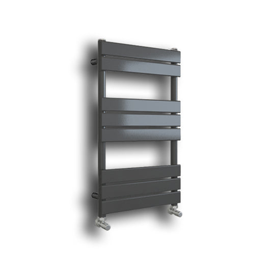 Riverton 800 x 600mm Matt Grey Designer Towel Rail