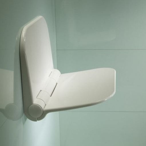 Roper Rhodes Deluxe White Folding Shower Seat
