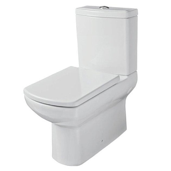 Prospect Close Coupled Back To Wall Toilet, Cistern and Soft Close Seat