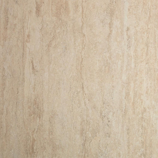 Showerwall Straight Edge 1200mm x 2440mm Panel - Travertine Stone - welovecouk