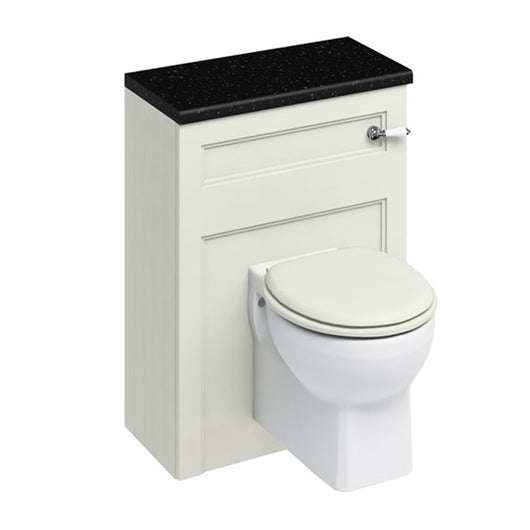 Burlington 600mm Wall Hung WC Unit with Lever Flush Cistern - Sand