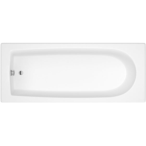 Wallgate Single Ended Acrylic Bath - 1700 x 700mm - welovecouk