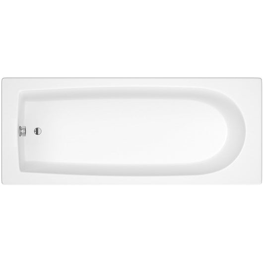 Wallgate Single Ended Acrylic Bath - 1600 x 700mm - welovecouk