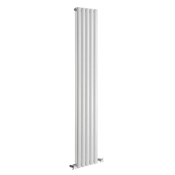 Reina Neva Vertical Double Radiator 1500 x 236 - White - welovecouk