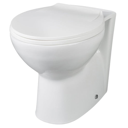 Deus 500mm Toilet and Basin Combination Unit - Brown Grey Avola