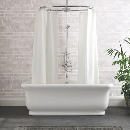 BC Designs - Senator 1800mm Freestanding Bath - welovecouk