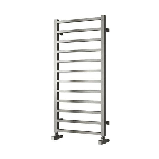 Reina Arden Steel Heated Towel Rail 1000 x 500 - Brushed - welovecouk