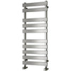 Reina Kreon Steel Flat Panel Heated Towel Rail 780 x 500 - Polished - welovecouk