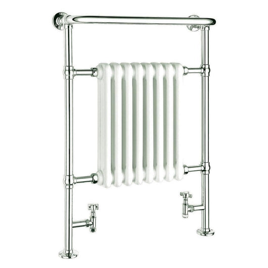 Reina Victoria Vertical Steel Heated Towel Rail 960 x 675 - welovecouk