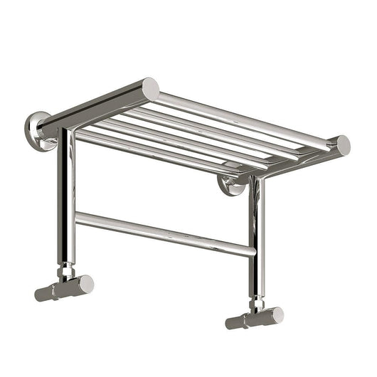 Reina Troisi Steel Heated Towel Rail 294 x 532 - Polished - welovecouk