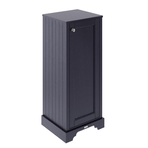 Old London Tall Boy Bathroom Storage Unit - Twilight Blue