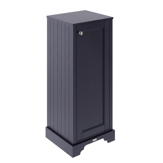 Old London Tall Boy Bathroom Storage Unit - Twilight Blue - welovecouk