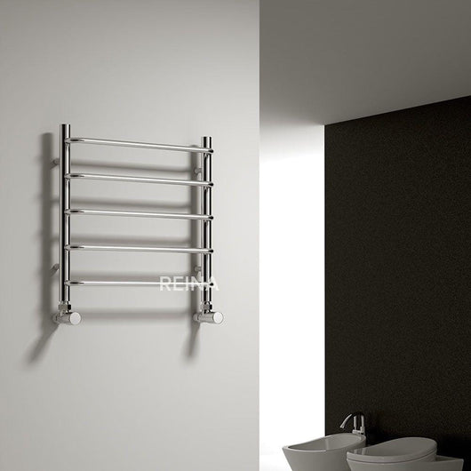 Reina Aliano Designer Heated Towel Rail 500 x 500 - welovecouk