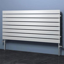Reina Rione Single Designer Horizontal Radiator - welovecouk