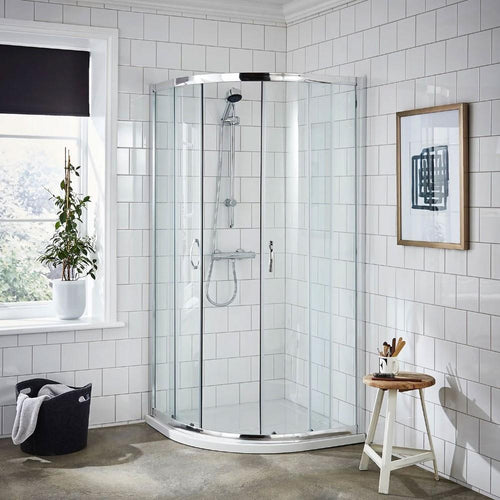 ShowerWorX Lela 800 x 800mm Quadrant Shower Enclosure