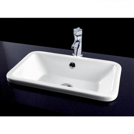 Chameleon Inset Counter Basin 560mm Wide