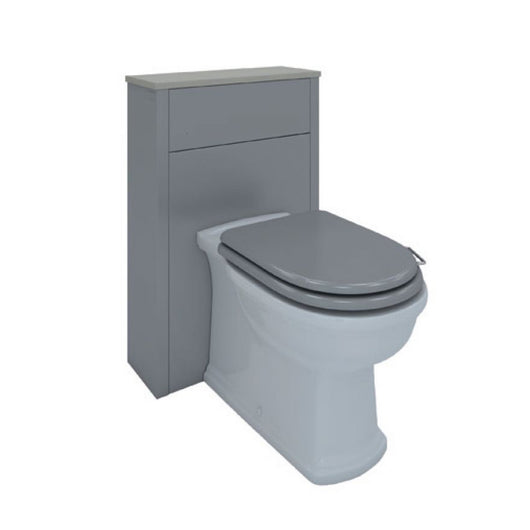 RAK Washington 550mm Back to Wall WC Unit - Grey