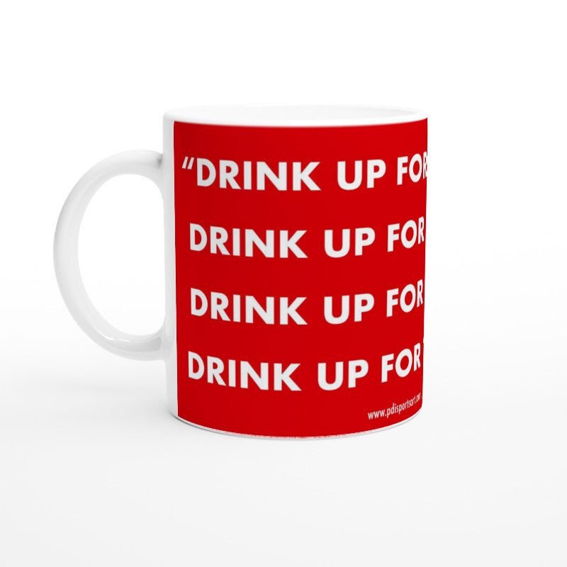 Arsenal fan chant mug