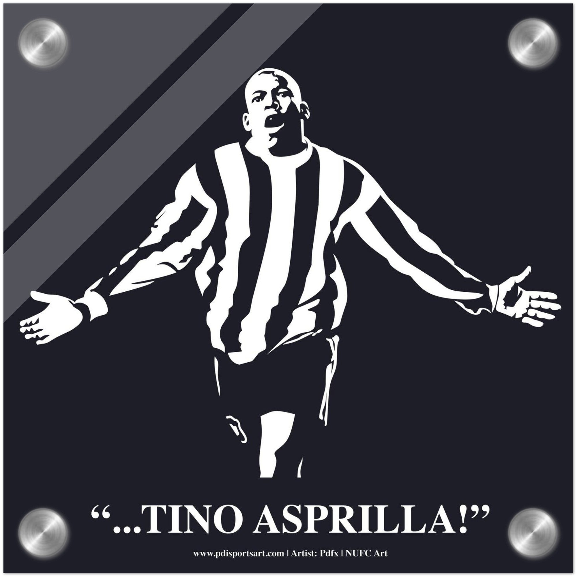 Newcastle United art Tino Asprilla