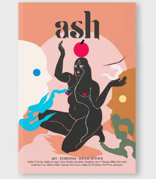 ash magazine  vol 2 cover