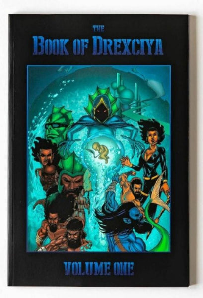 The Book of Drexciya Vol 1 preview page
