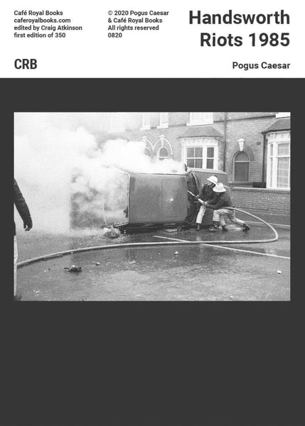Handsworth Riots 1985