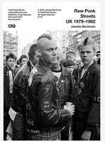 Raw Punk Streets UK 1979–1982: Janette Beckman cover