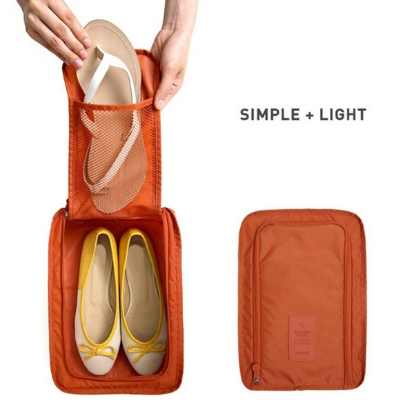 Travel Shoe Pouch Set Of 2