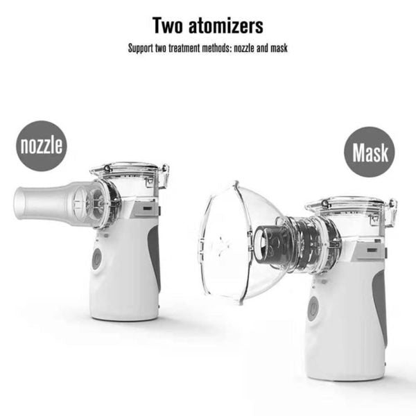 Compact And Portable Nebulizer