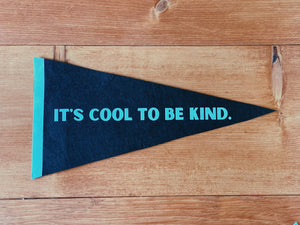 It's Cool to Be Kind Pennant