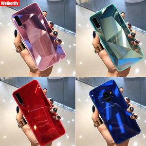 mirror 3d diamond back cover for huawei p20 pro p30 lite p smart y9 y6 y7 prime 2019 mate 10 20 30 lite honor 10i 20 lite case - Bestar store