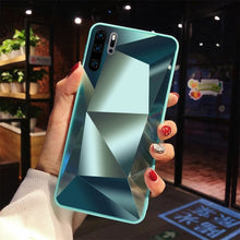 Load image into Gallery viewer, mirror 3d diamond back cover for huawei p20 pro p30 lite p smart y9 y6 y7 prime 2019 mate 10 20 30 lite honor 10i 20 lite case - Bestar store