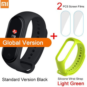 Global Version Xiaomi Mi Band 4 Smart Bracelet 3 Color AMOLED Screen Heart Rate Fitness Bluetooth 5.0 Sport Waterpfoof Wristband