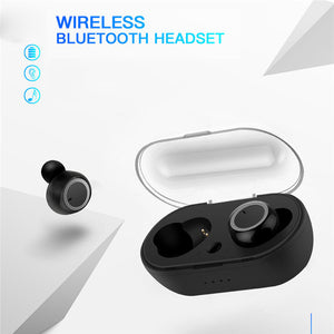 Briame Wireless Earphone Bluetooth V5.0 TWS Wireless Bluetooth Headphone Sports Earbuds Headset With Microphone for Samrtphone - Bestar store