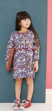 Lilly & Sid Animal Woven Dress