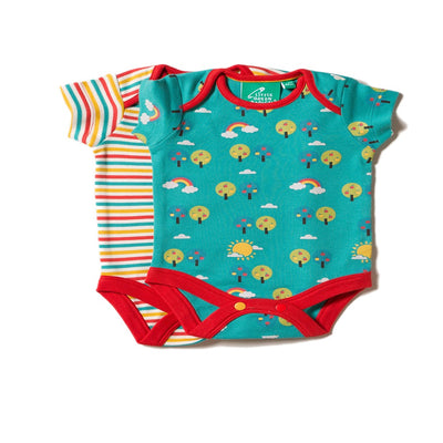 Beyond The Rainbow Baby Onesie Set