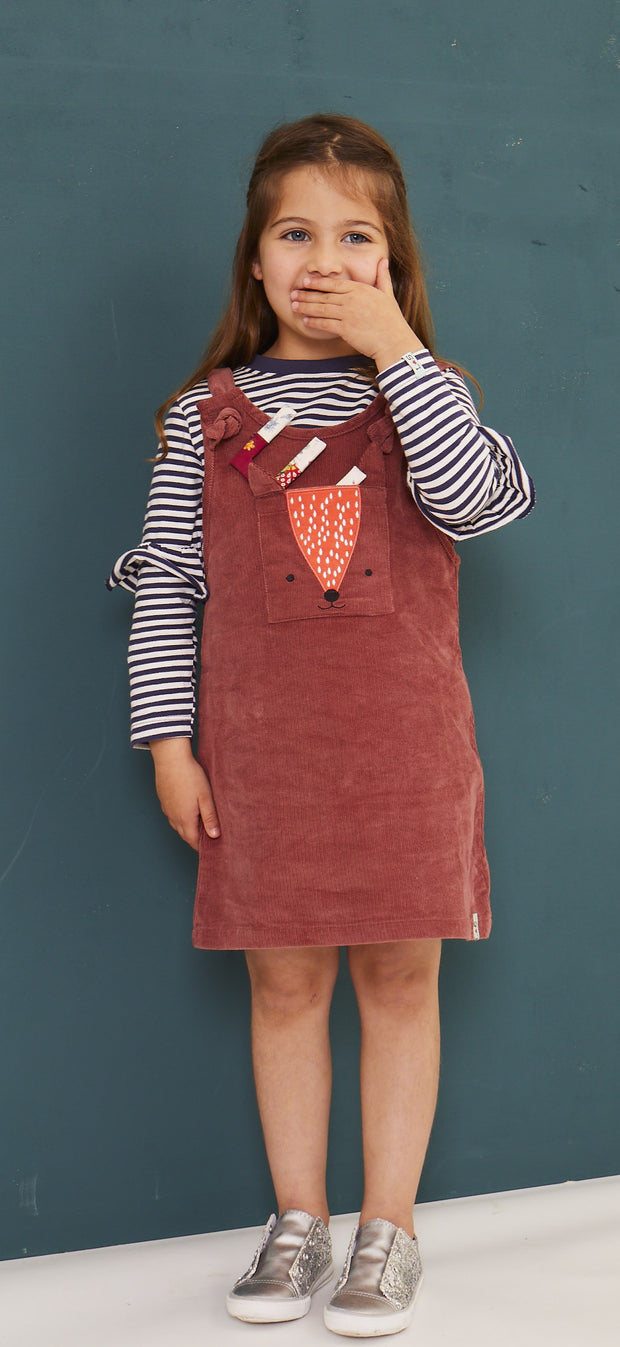 Lilly & Sid Fox Pinafore Dress