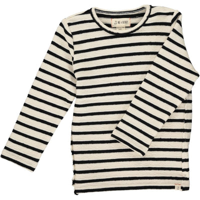ME & HENRY Cream/Black Stripe Sweater