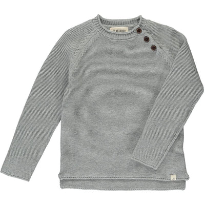 ME & HENRY Grey Cotton Sweater