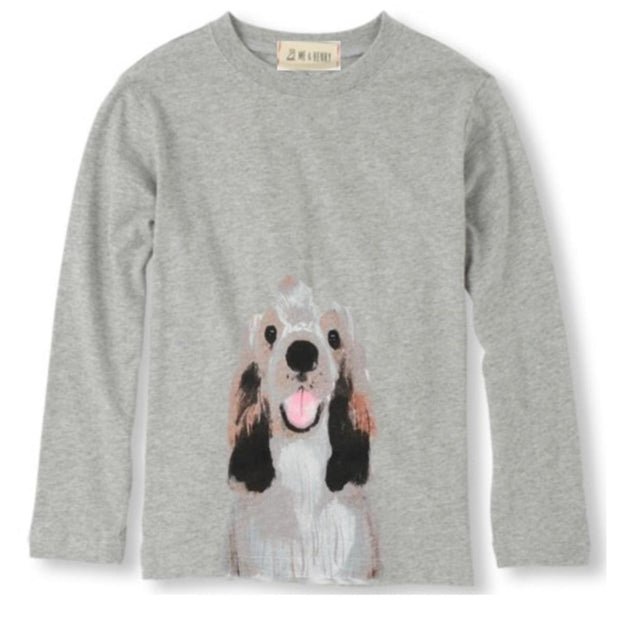 ME & HENRY Grey Henry Long Sleeve Tee