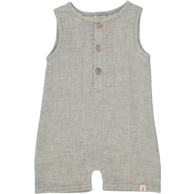 ME & HENRY Grey Woven Playsuit