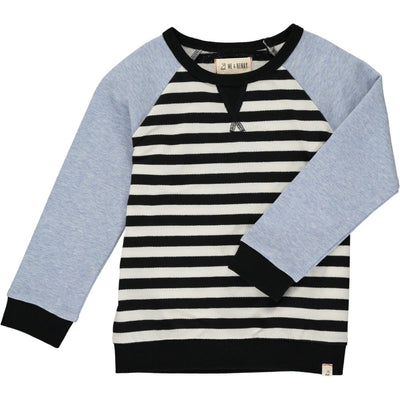 Me & Henry Striped Raglan Sweatshirt