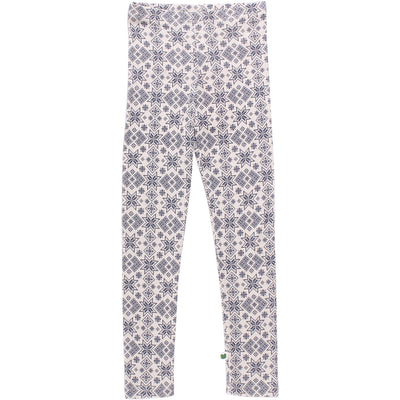 Snowflake Wool Leggings