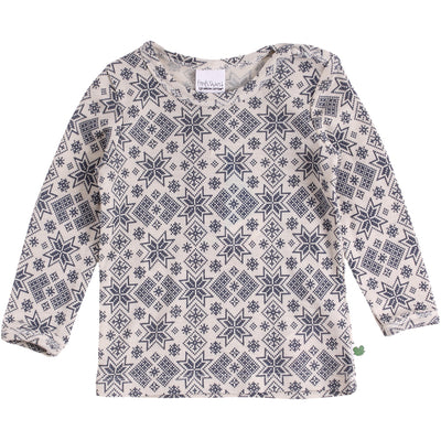 Snowflake Wool Long Sleeve Tee (baby)