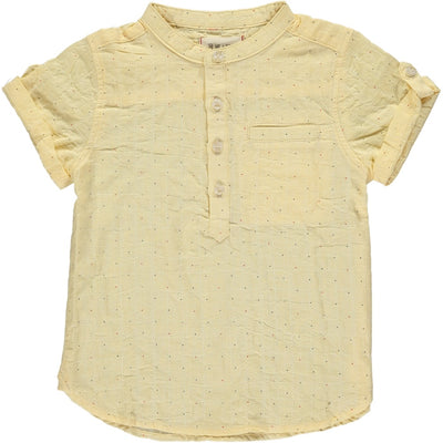 Yellow Dot Short Sleeve Shirt
