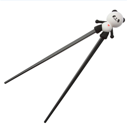 Panda Training Chopsticks - Black