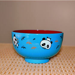 Panda Rice Bowl - Blue